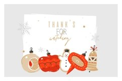 Christmas cookies vector collection Product Image 6