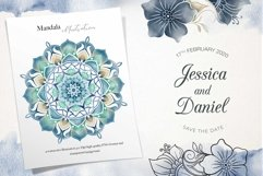 Nautical Floral & Mandala Watercolor Product Image 5