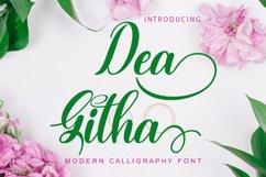 Dea Githa Script Product Image 1