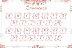 Square Lily Monogram Product Image 5