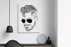 Wall art - modern man fashion Product Image 4