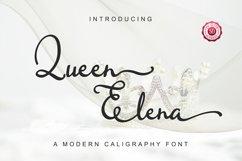 Queen Elena - Script Font Product Image 1