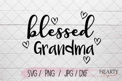 Blessed grandma svg Product Image 1