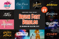 Brush Font Bundles Collection Product Image 1