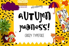 Autumn Madness Typeface Product Image 1