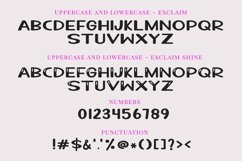 Web Font Exclaim - a fun unicase handwritten font | Two styl Product Image 3