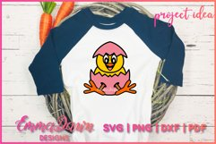THE CUTE EASTER CHICK SVG BUNDLE 6 MANDALA ZENTANGLE DESIGN Product Image 5