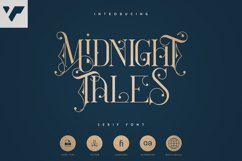 Midnight Tales - Vintage font Product Image 1