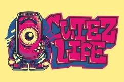 Aerock - Layered Graffiti Font Product Image 2
