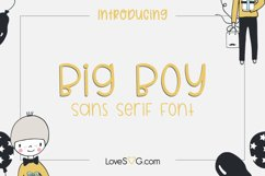 Big Boy Sans Serif Font Product Image 1