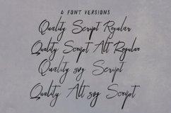 Quality SVG Bold Brush Script Product Image 3