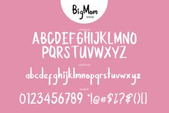 BigMom Font Product Image 6