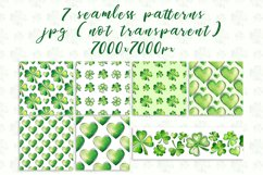 Clover. Watercolor set. PNG, JPG Product Image 3