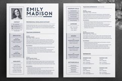 TEACHER Resume Template for MS Word | 2 Page Resume Product Image 2