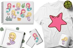 Mermaid Illustrations Product Image 3