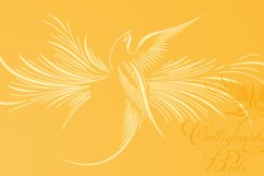 Calligraphic Birds Family Pack Product Image 5