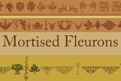 Mortised Fleurons Product Image 1
