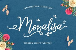 Monalisa Luxurious Font Product Image 1