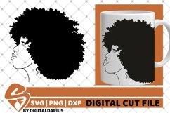 7x Black Woman Bundle SVG, Afro Girl svg, Chubby Diva SVG Product Image 6