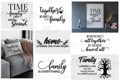 Family Quotes svg bundle Product Image 4