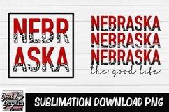 Sublimation designs for tshirts-nebraska-PNG Product Image 1