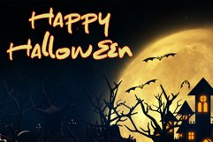 The Spooky Night - A Halloween Font Product Image 3