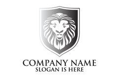 Lion shield logo design ,Elegant lion head logo Product Image 5
