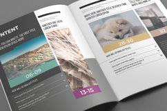 Experiment Indesign Template Product Image 4