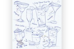 New Era Coctail Set on a notebook page Product Image 1