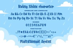 Rainy Shine - Unique Bouncy Font Product Image 6