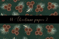 Christmas digital paper pack Product Image 6
