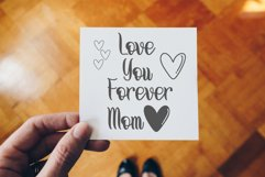 Thanks Mom - Modern Calligraphy Product Image 2