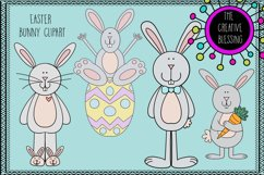 Easter Bunny Clipart Product Image 1