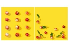 Small red apples pattern or postcard Product Image 1