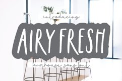 AIRY FRESH Distressed Farmhouse Font Product Image 1