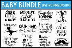 Baby Onesie Bundle  Baby SVG Bundle- 12 DESIGNS! Product Image 1