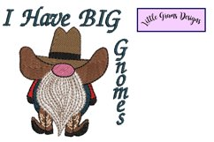 Gnome Toilet Paper Towel Embroidery Design Product Image 2
