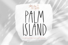 Palm Island - Handwritten Font with Extras Product Image 1