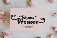 Juliana Dreams - Lovely Font Product Image 1