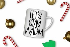 Web Font Cozy Christmas - A Quirky Hand-Lettered Font Product Image 3