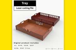 Tray - laser cut file Product Image 1