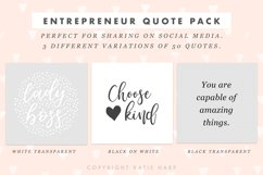 50 Motivational Quote Templates for Social Media Product Image 2