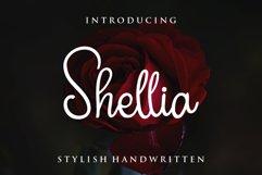 Shellia Script Product Image 1