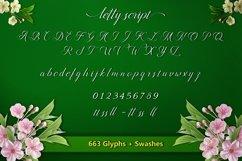 Web Font Letty Script Product Image 2