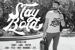 The Rollingstar - Stylish Bold Script Product Image 6
