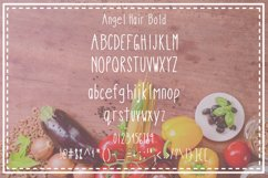 Angel Hair Pasta Font Trio Product Image 3