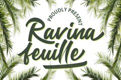 Ravina feuille Product Image 1