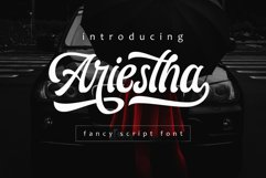Ariestha Script Product Image 1