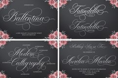 Calligraphy Font Collection Bundle. 4 IN 1 Product Image 4