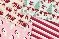 Cozy Christmas Digital Papers Product Image 3